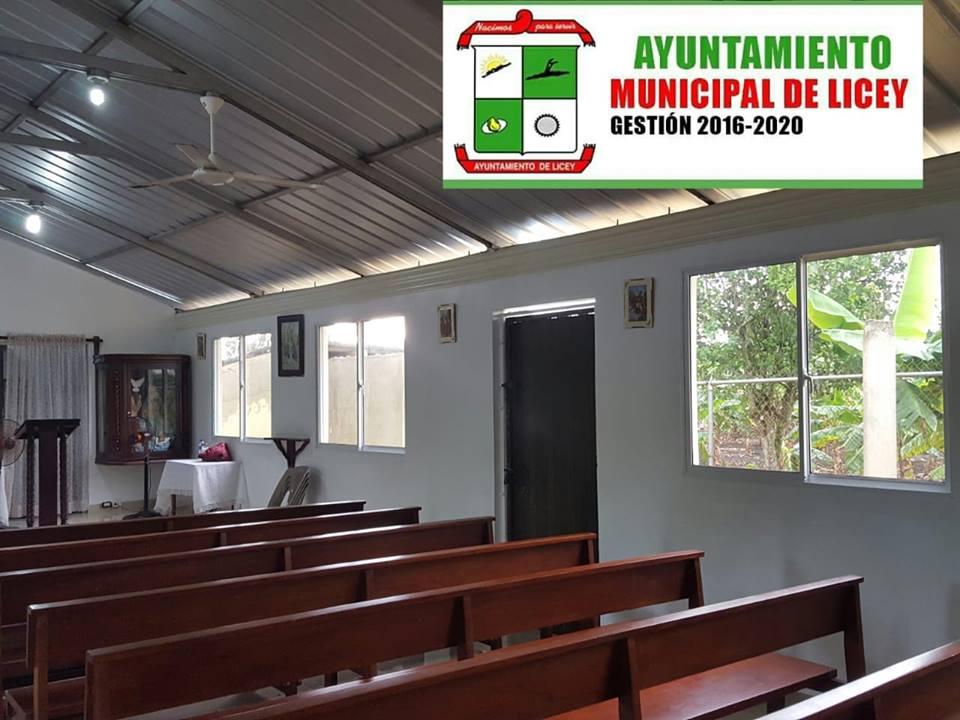 Presupuesto participativo, capilla Divina Trinidad.