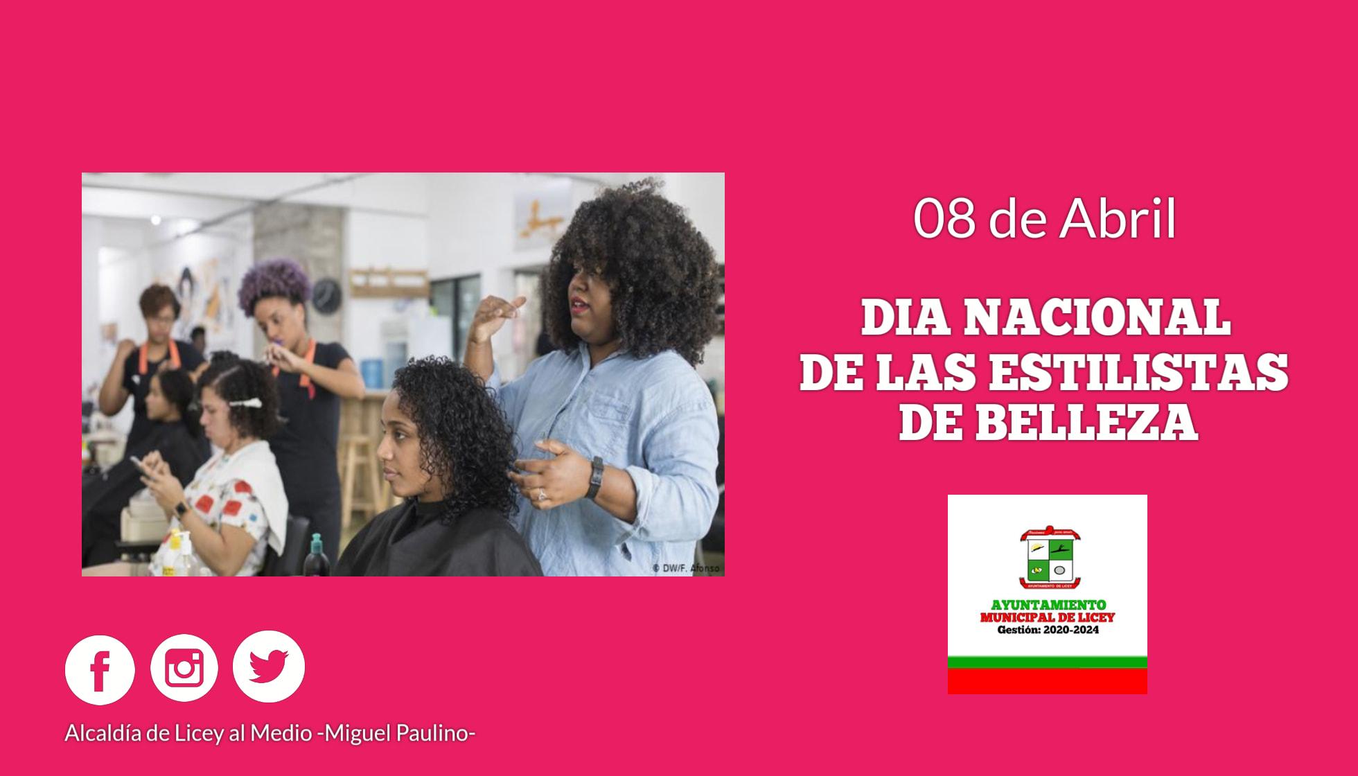 Día Nacional de las Estilistas de Belleza.