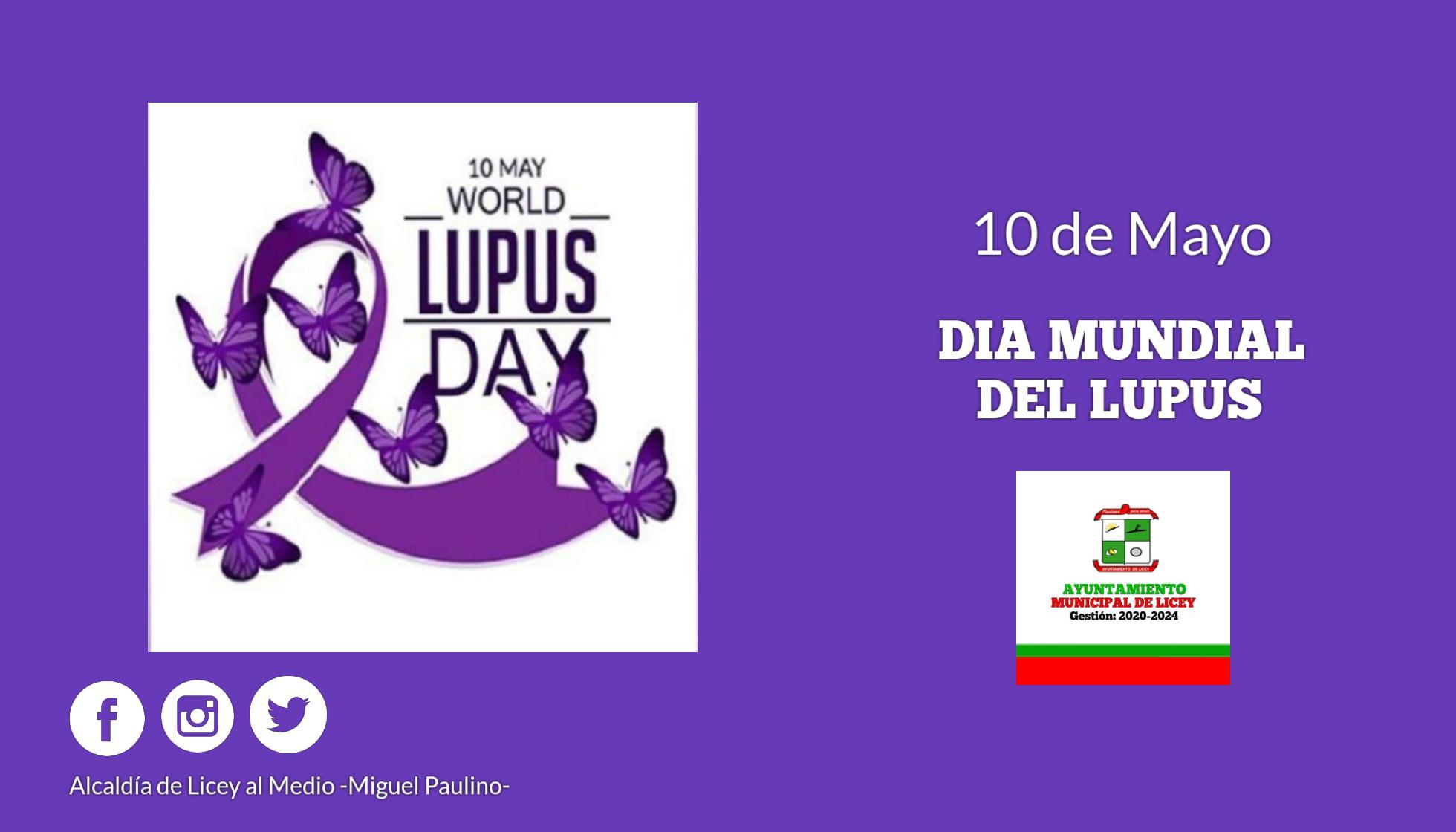 Día Mundial del Lupus.
