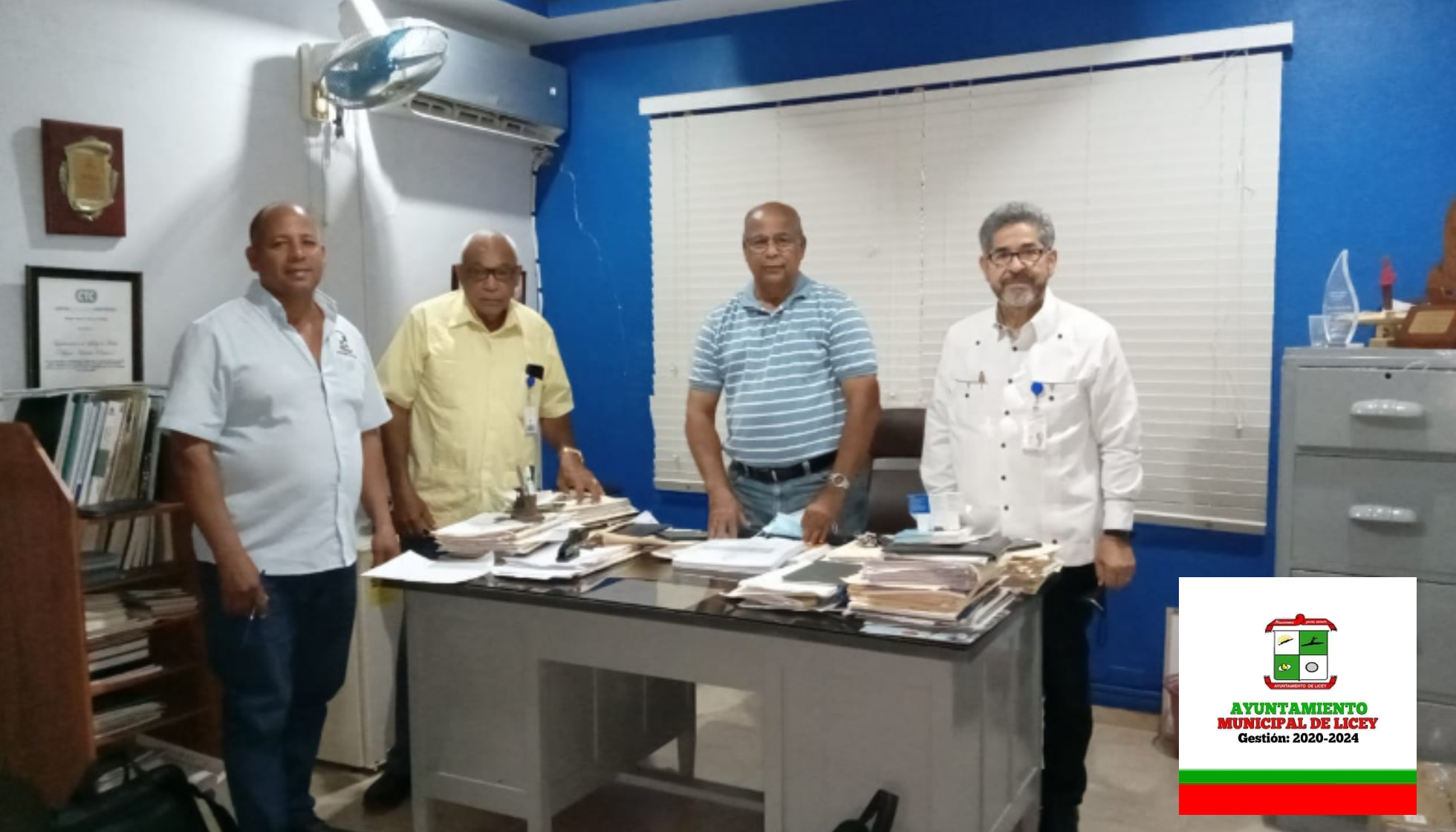 Visita de la Oficina Municipal de Planificación y Programación (OMPP).